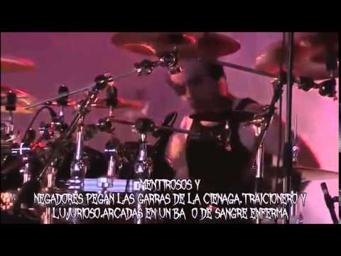 Cradle Of Filth-Right Wing Of The Garden Triptych-SUB ESPAÑOL(UNOFFICAL LIVE VIDEO)