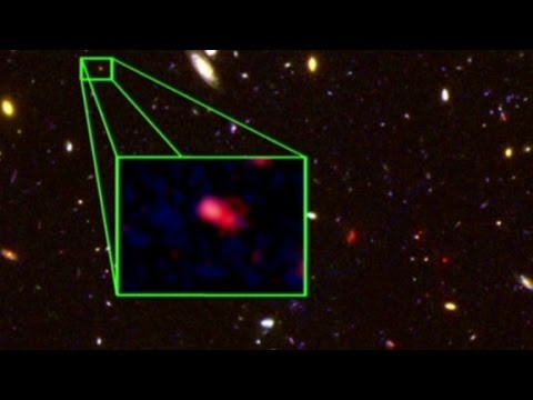 Most distant galaxy discovered