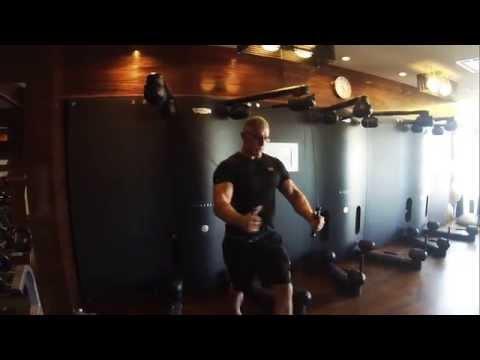 Robert Irvine Butterfly Exercise