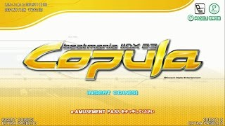 beatmaniaIIDX 23 copula (ENTRY~GAME OVER)
