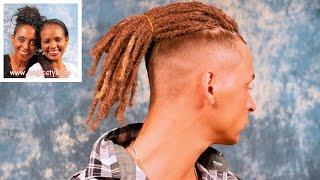 Justin war überrascht: Dreadlocks in superkurze Haare - es geht doch! - Mit Stylingtipp