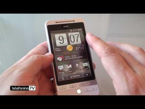 HTC Hero parte 1 videoprova da telefonino.net