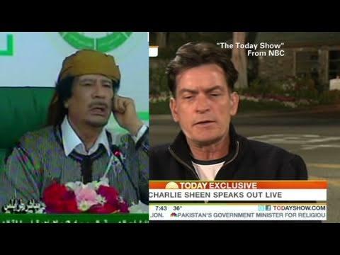 CNN: Charlie Sheen equals Gadhafi?