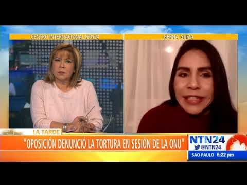 """""""Hay un reconocimiento por parte de la ONU de la crisis que vive Venezuela"""": Lorena Cañas"""