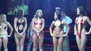 Ring Girl Contest at the Clash at the Coliseum July 11, 2009