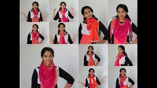 Duptta styles for chudi, kurti,tops,tshirts,causual wear and gowns..