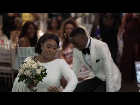 BEST AFRICAN BRIDAL PARTY DANCE Wedding Entry - Congolese Bride & Zambian Groom Traditional Marriage