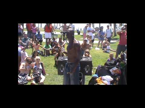 Mr. Animation(America's Got Talent) performs at Venice Beach - Part 2