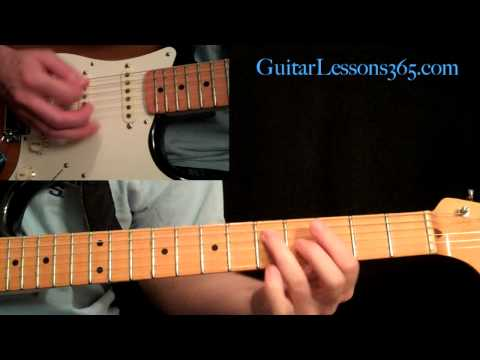 Rock This Town Guitar Lesson Pt.1 - Stray Cats - Intro & Verse