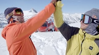 The Jackson & Pettit Bros' Bro-down in the Bro-zone | Keep Your Tips Up: Behind the Scenes