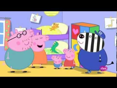 Peppa pig ep4 un armario para los juguetes youtube - Armario para guardar juguetes ...