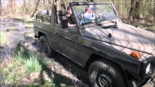 Élményvezetés, és élményautózás G Mercedes kabrioval