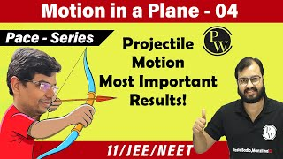 Motion in a plane 04 | Projectile Motion | Range |Height| Time of flight| Trajectory|11 | JEE| NEET|