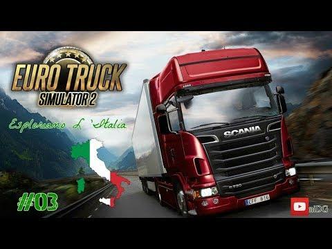 Euro Truck Simulator + Italy map 2.0 = (Esploriamo L'Italia) Milano - Venezia