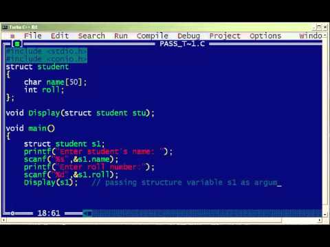 C Program to Store Information of Single Variable using structure