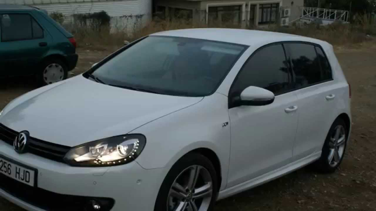 volkswagen golf 6 r line 140bhp 2012 youtube. Black Bedroom Furniture Sets. Home Design Ideas