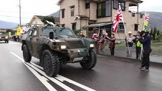 自衛隊奄美駐屯地 歓迎会&パレード