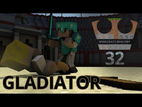 Jirka a GEJMR Hraje - Minecraft Mini hry 32 - Gladiator