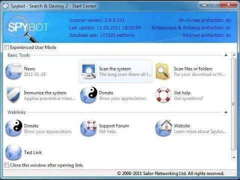 How To Download And Install Spybot - Search & Destroy 2.6.46 For Windows