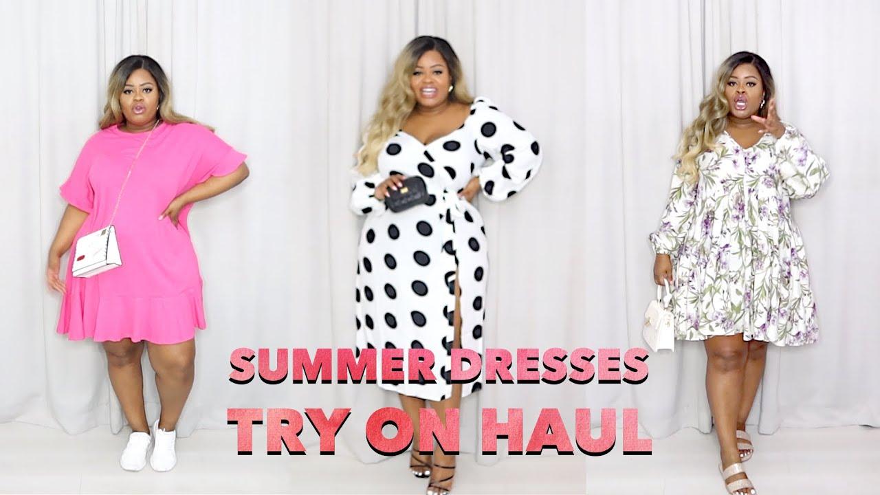 Fat Girl Friendly Summer Dresses Try On Haul Plus Size | Edee Beau