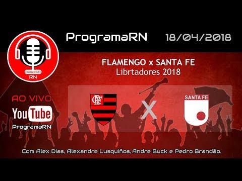18/04/2018 - Libertadores 2018 - Flamengo x Santa Fe