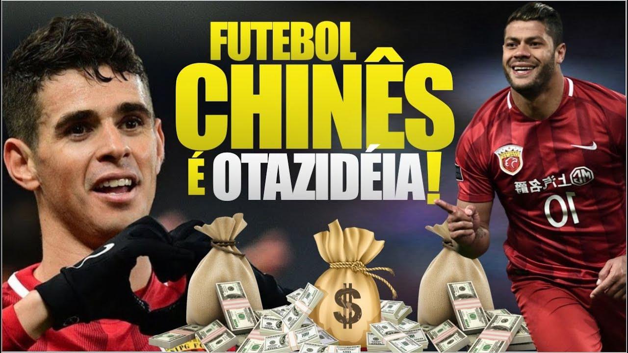 Os 10 JOGADORES mais BEM PAGOS do futebol CHINÊS em 2020