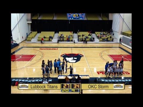 Lubbock Titans Vs OKC Storm G16 Gold Ball