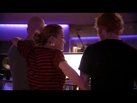RITA ORA & ED SHEERAN   Your Song - In The Studio