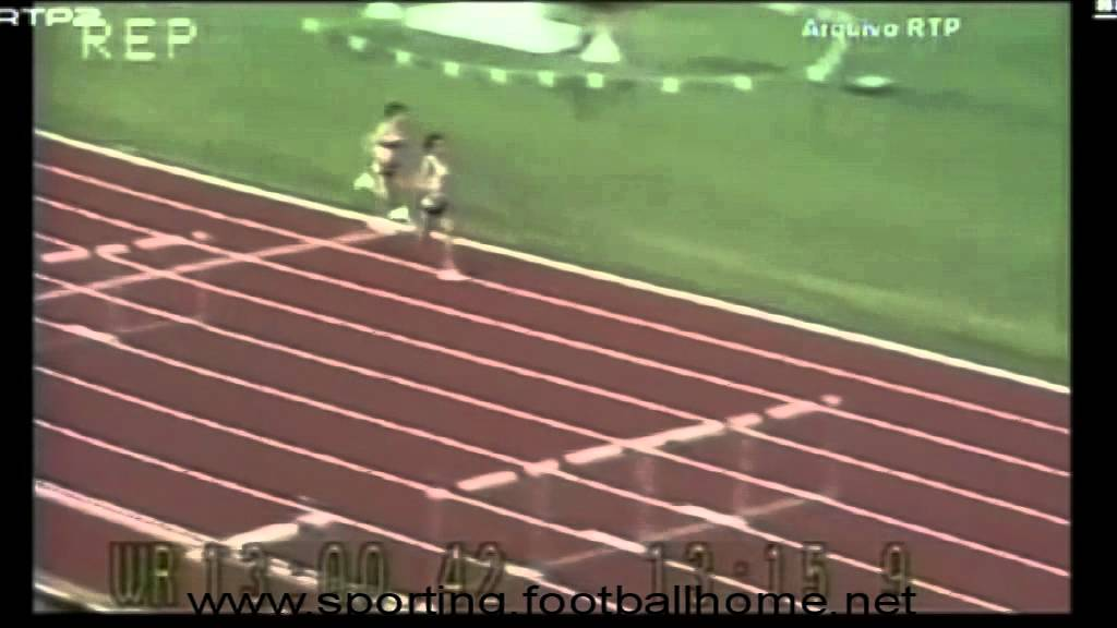 Atletismo :: Fernando Mamede vence 5000m do Meeting de Zurique em 1984 (22/08/1984)