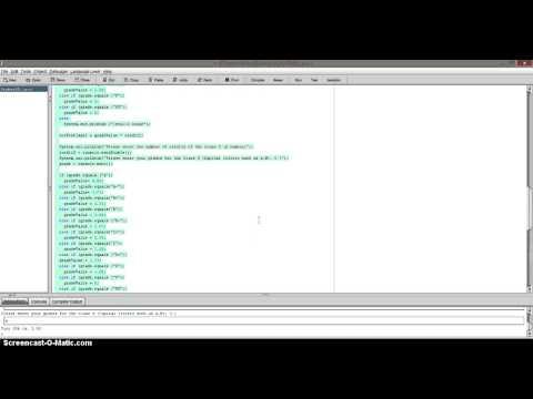 Create GPA Calculator in Java Application Program