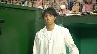 俳優・鈴木伸之がタカガールデーで人生初の始球式!どこよりも長くお届け!