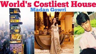 World's Costliest House   Tamil   Antilla   Ambani House   Madan Gowri   MG