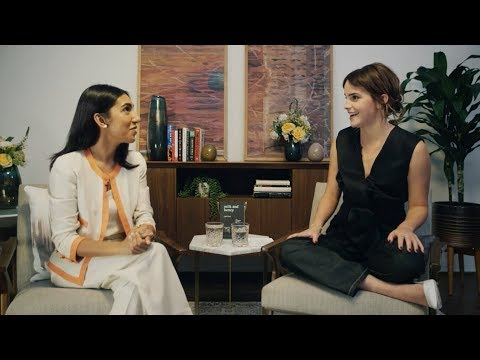 Emma Watson Interviews Rupi Kaur for Our Shared Shelf