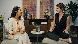 Emma Watson Interviews Rupi Kaur for Our Shared Shelf