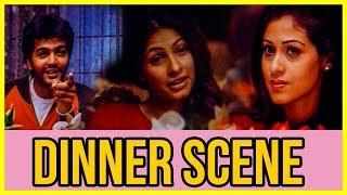Unnale Unnale - Dinner Scene | Vinay Rai | Sadha
