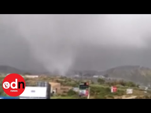 Extreme Weather Including Tornado Hits Southern Spain