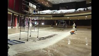 Time Lapse Video, Paper Mill Playhouse Renovation, 2018