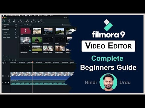 Filmora9 Complete Video Editing Tutorial For Beginners - 2019 thumbnail