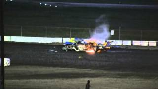 Devils Bowl - Limited Modifieds - Heat #2 - August 3, 2013