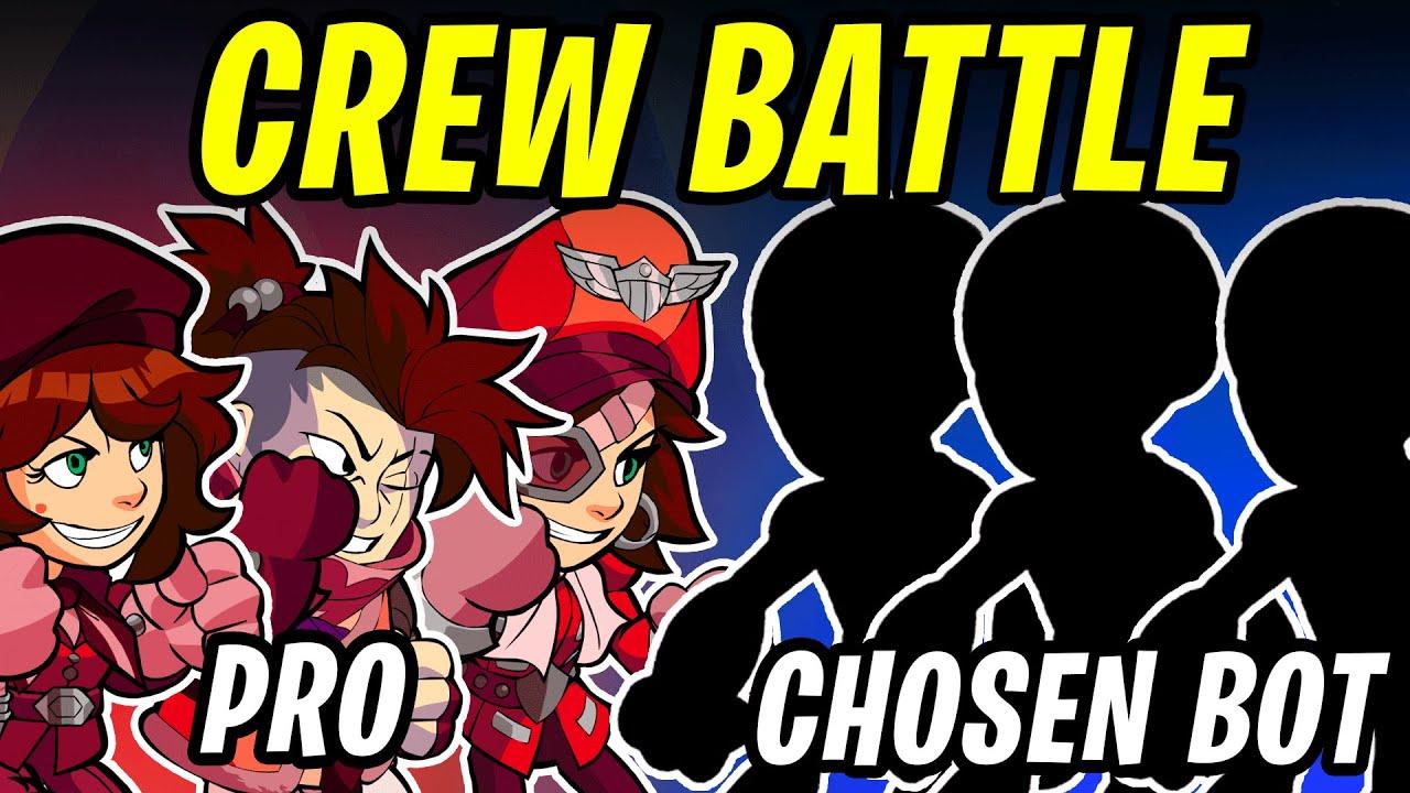 Brawlhalla Crew Battle   Players vs Chosen Bots