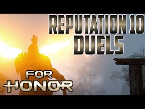 [For Honor] Centurion Reputation 10 Duels