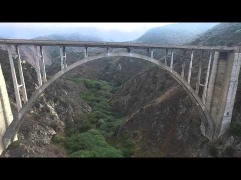 DJI Phantom 3 drone at Bixby Creek Bridge in Big Sur, California (1 of 2)