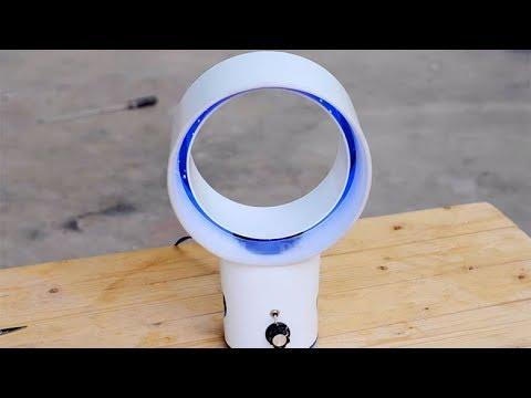 #лучшедома. Безлопастный вентилятор как необычное и практичное украшение интерьера