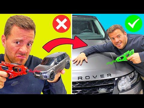como-convertir-un-coche-de-plastico-en-uno-real-life-hacks-itarte-show