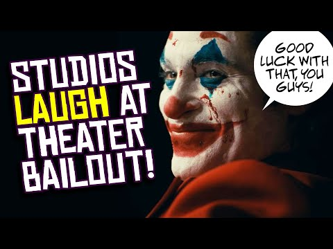 Hollywood Studios LAUGH At Idea Of Movie Theater Bailout! You're On Your Own!