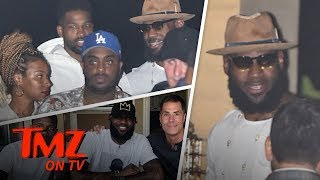 LeBron James Goes On A Double Date with Khloe Kardashian! | TMZ TV