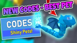 NEW CODES in PET TRAINER - I OPENED 1,500 EGGS AND GOT THE BEST PET (Roblox)