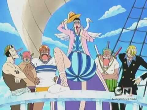 One Piece 4Kids - Mr. 2 Helps the Straw Hats - YouTube
