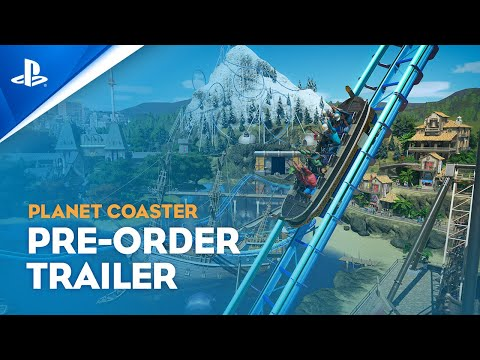 Planet Coaster: Console Edition - Pre-Order Trailer | PS4, PS5