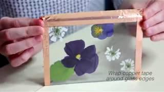 DIY: Pressed Flower Frames